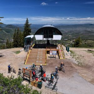 Mountain Bike Lift Service in Park City, Utah